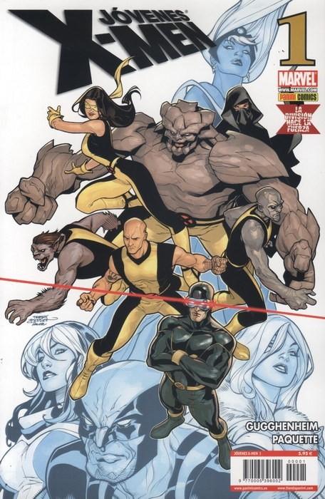 Couverture de Jóvenes X-Men -1- Tomo 1