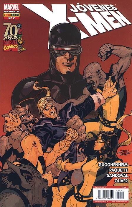 Couverture de Jóvenes X-Men -2- Tomo 2