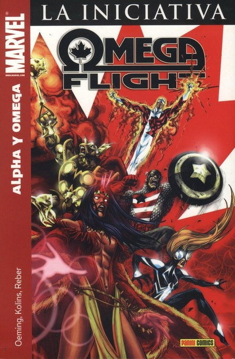 Couverture de Héroes Marvel: Tomos Únicos - Omega Flight