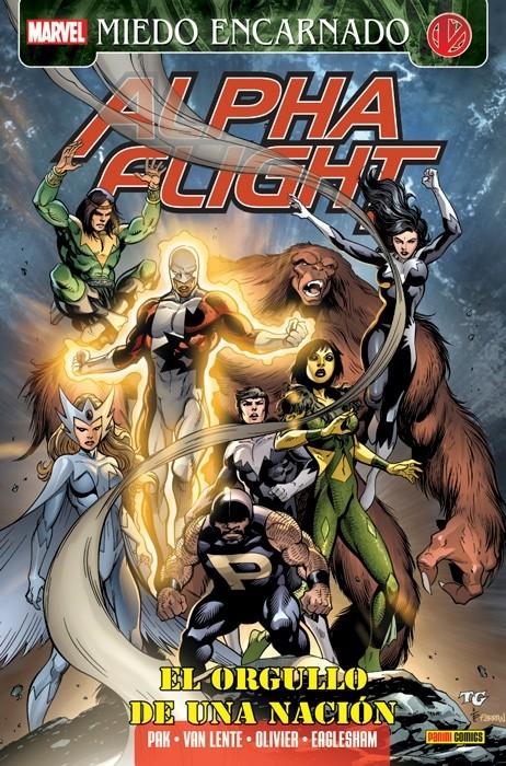 Couverture de Héroes Marvel: Tomos Únicos - Alpha Flight: El orgullo de una nación