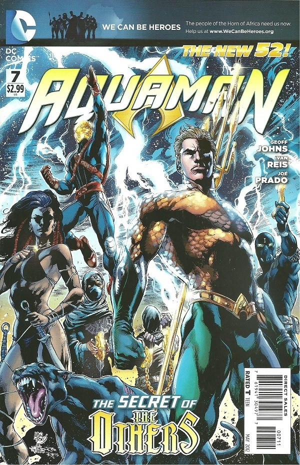 Couverture de Aquaman (2011) -7- The Others - Chapter one