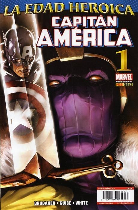 Couverture de Capitán América (Vol. 8) -1- Sin Salida Parte 1