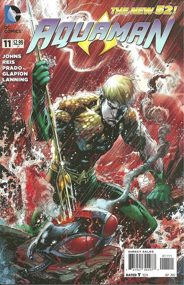 Couverture de Aquaman (2011) -11- The Others - chapter five