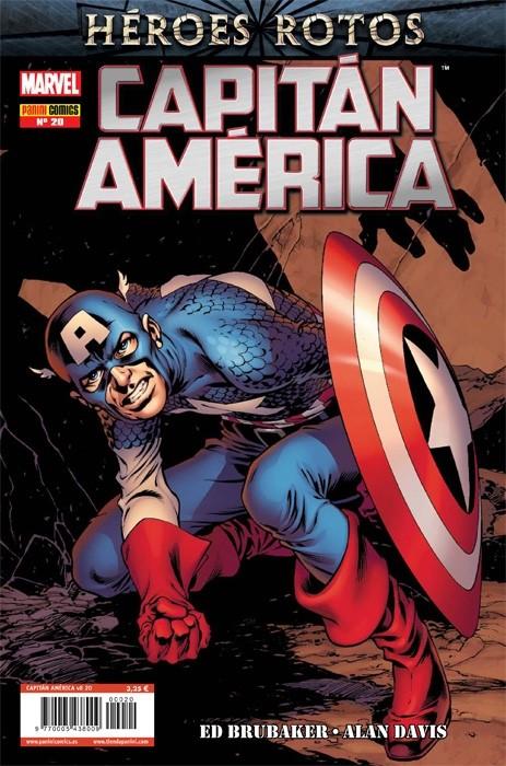 Couverture de Capitán América (Vol. 8) -20- Impotente Parte 3 y 4