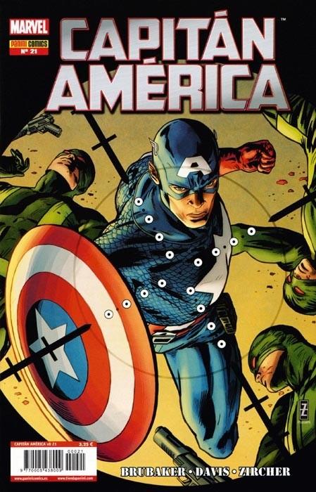 Couverture de Capitán América (Vol. 8) -21- Impotente Parte 5 / Ataque al Sistema Parte 1