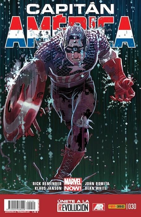 Couverture de Capitán América (Vol. 8) -30- La extraña guerra de la dimensión Z Parte 2