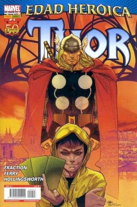 Couverture de Poderoso Thor: Dios Del Trueno (El) -3- Los devoradores de Mundos Parte 3