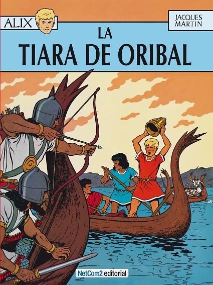 Couverture de Alix (en espagnol) -4- La Tiara de Oribal