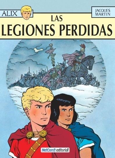 Couverture de Alix (en espagnol) -6- Las Legiones Perdidas