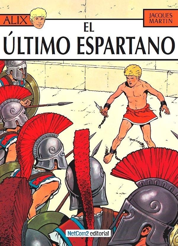 Couverture de Alix (en espagnol) -7- El Último Espartano