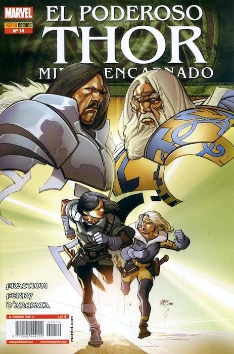 Couverture de Poderoso Thor: Dios Del Trueno (El) -14- Miedo Encarnado: En el comienzo...