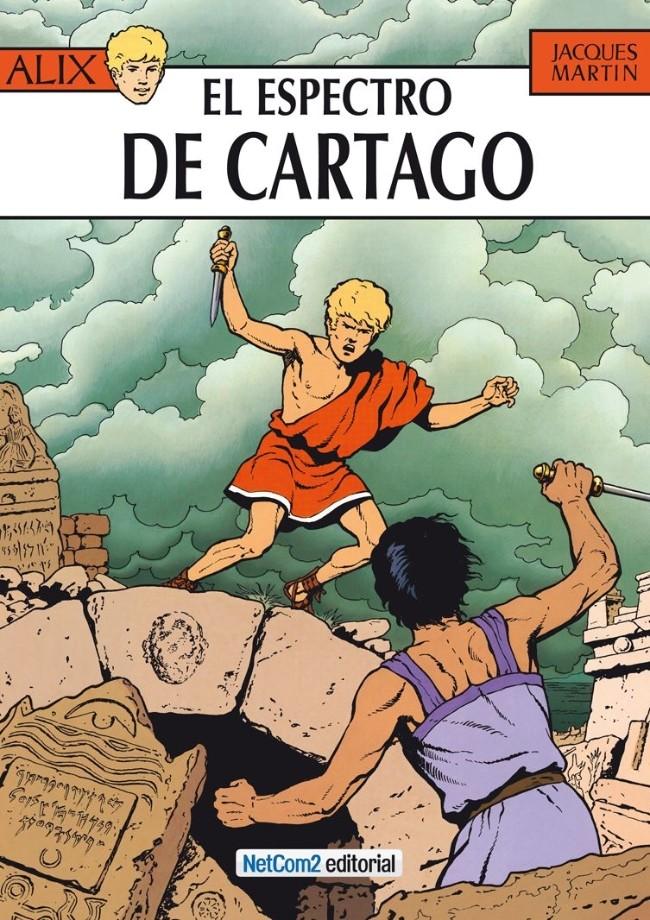 Couverture de Alix (en espagnol) -13- El Espectro de Cartago