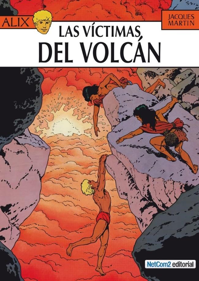 Couverture de Alix (en espagnol) -14- Las Víctimas del Volcán