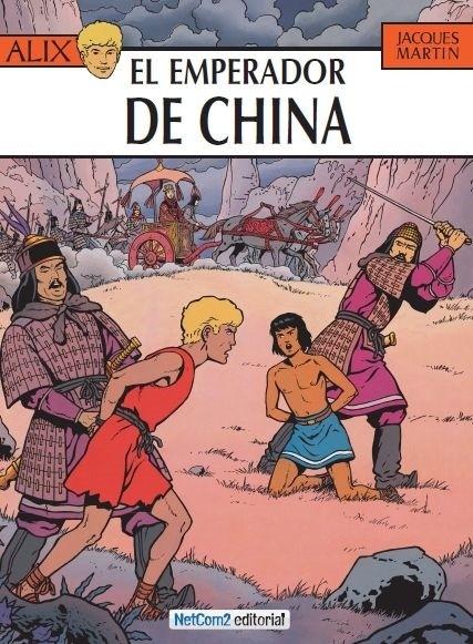 Couverture de Alix (en espagnol) -17- El Emperador de China