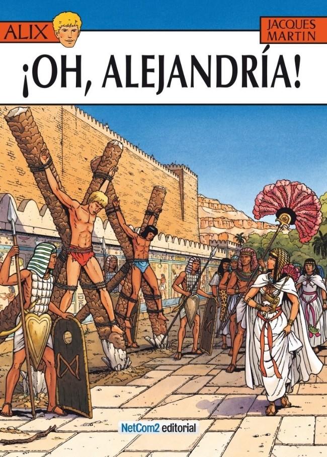 Couverture de Alix (en espagnol) -20- ¡Oh, Alejandría!