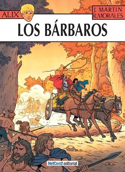 Couverture de Alix (en espagnol) -21- Los Bárbaros