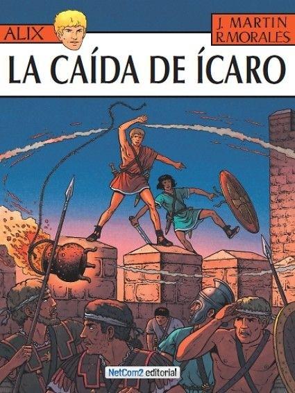 Couverture de Alix (en espagnol) -22- La Caída de Ícaro