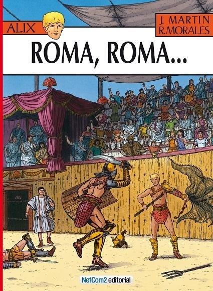 Couverture de Alix (en espagnol) -24- Roma, Roma...