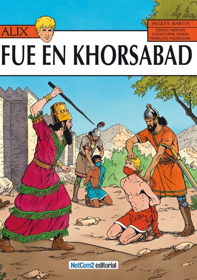 Couverture de Alix (en espagnol) -25- Fue en Khorsabad