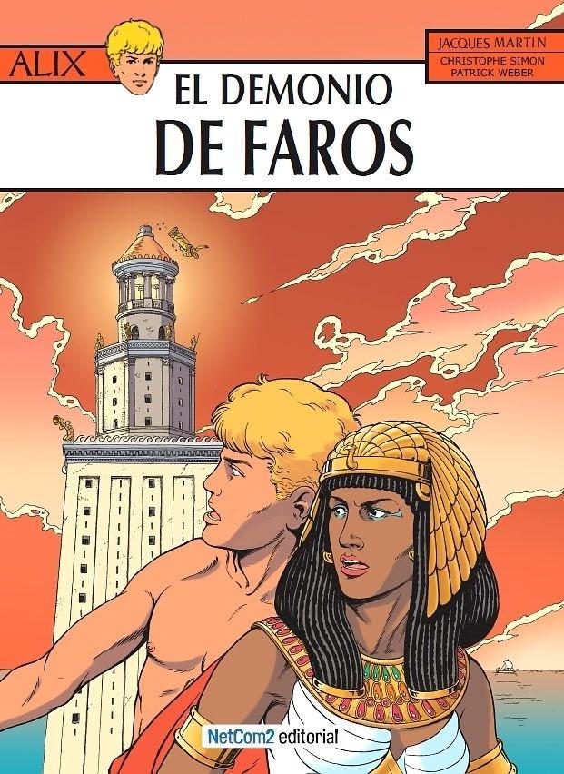 Couverture de Alix (en espagnol) -27- El Demonio de Faros