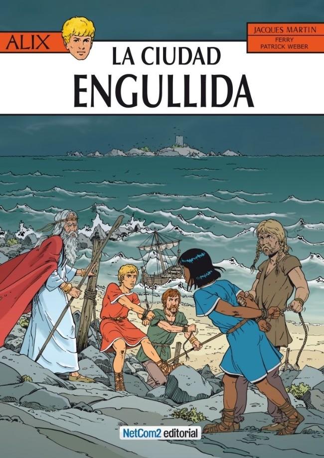 Couverture de Alix (en espagnol) -28- La Ciudad Engullida