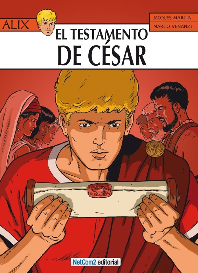 Couverture de Alix (en espagnol) -29- El Testamento de César