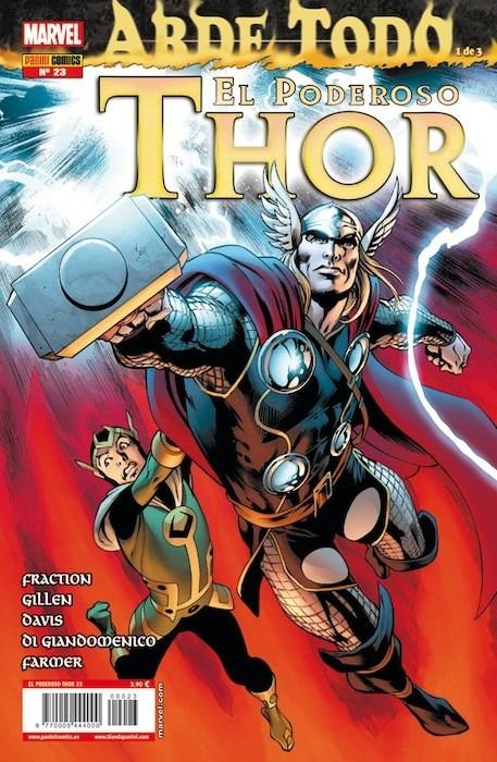 Couverture de Poderoso Thor: Dios Del Trueno (El) -23- Arde Todo: Prologo, Parte 1 y 2