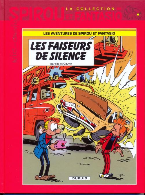 Couverture de Spirou et Fantasio - La collection (Cobra) -34- Les faiseurs de silence
