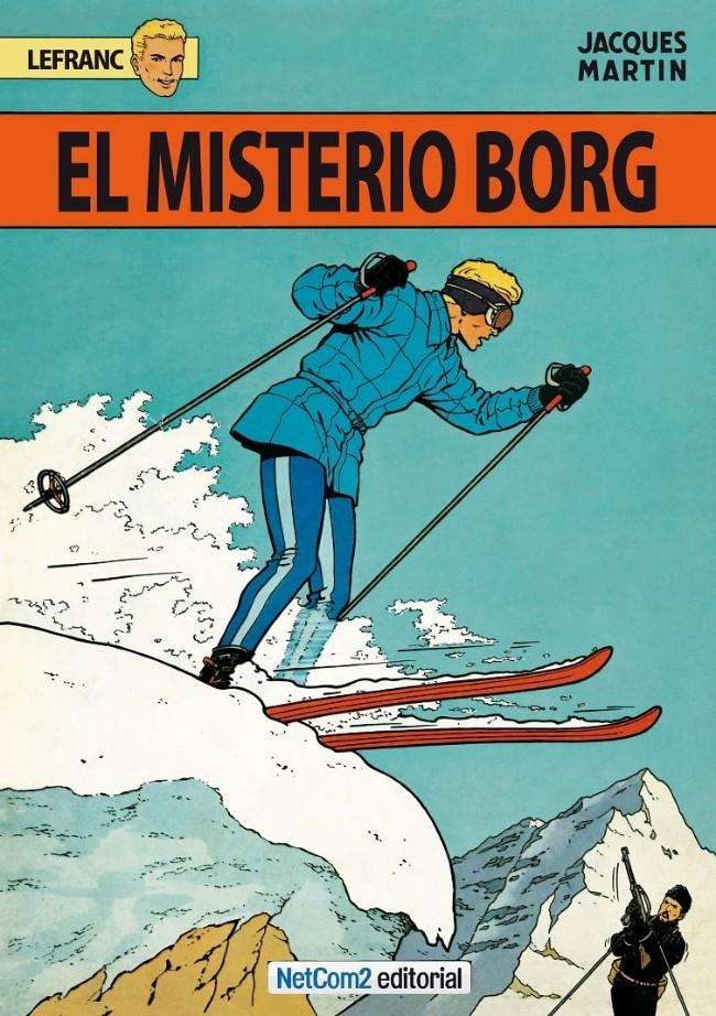 Couverture de Lefranc (en espagnol) -3- El Misterio Borg