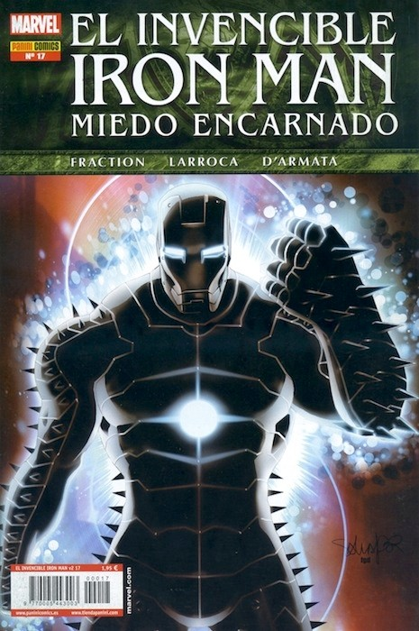 Couverture de Invencible Iron Man (El) -17- Miedo Encarnado Parte 6: Misericordia