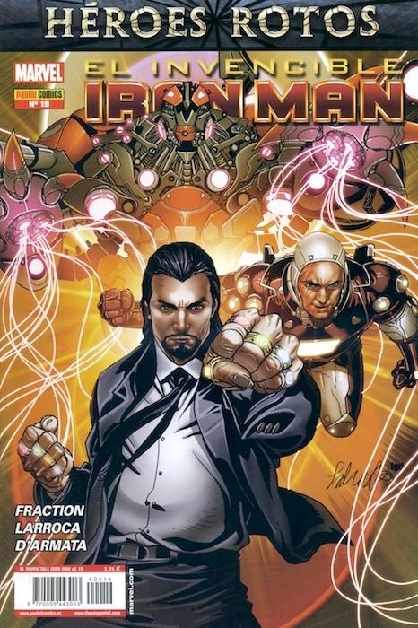 Couverture de Invencible Iron Man (El) -19- Demonio Parte 2 y 3: Exposición y Control