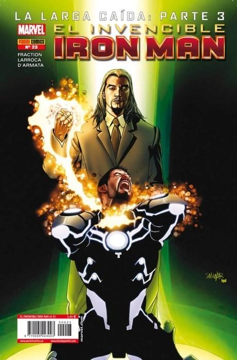 Couverture de Invencible Iron Man (El) -23- La larga caida Parte 4 y 5