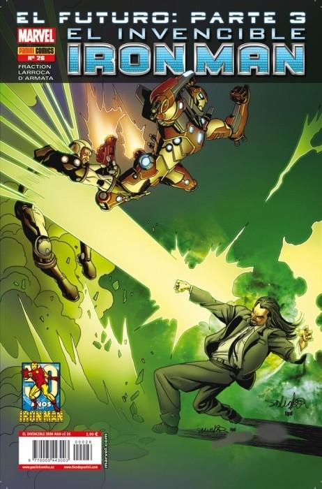 Couverture de Invencible Iron Man (El) -26- El Futuro Parte 5, 6 y 7