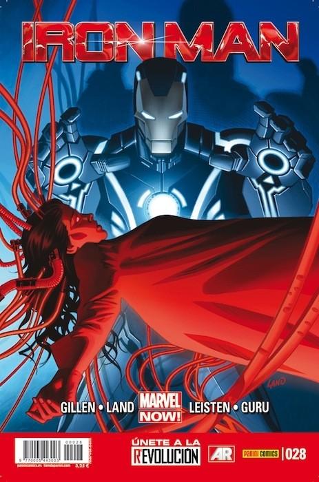 Couverture de Invencible Iron Man (El) -28- Cree Parte 3 y 4