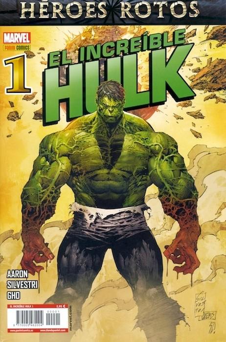Couverture de Indestructible Hulk -1- Dividido Parte 1