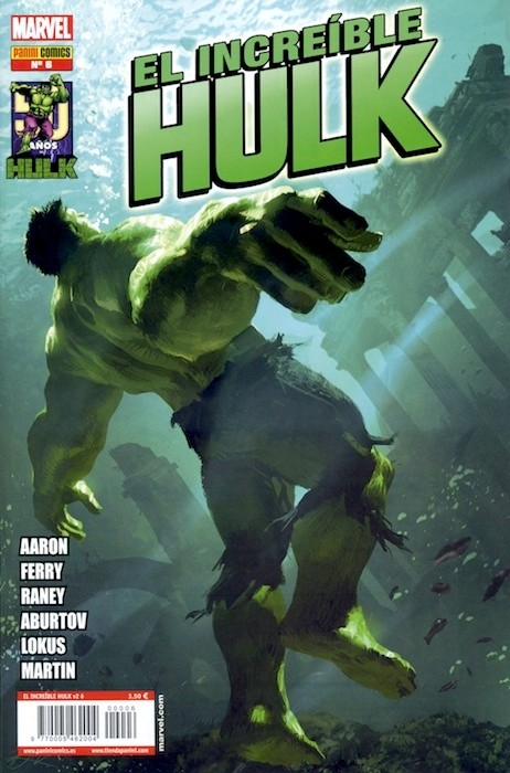 Couverture de Indestructible Hulk -6- ¡Mantenerse Furioso! Parte 2 y 3