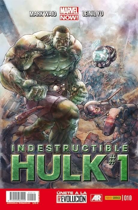 Couverture de Indestructible Hulk -10- Agente de S.H.I.E.L.D.