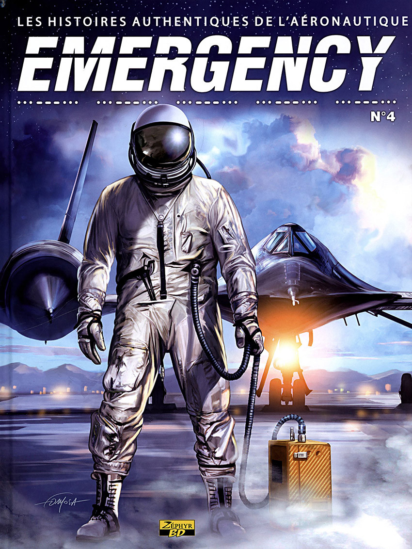 Couverture de Emergency - Les Histoires authentiques de l'aéronautique -4- N°4