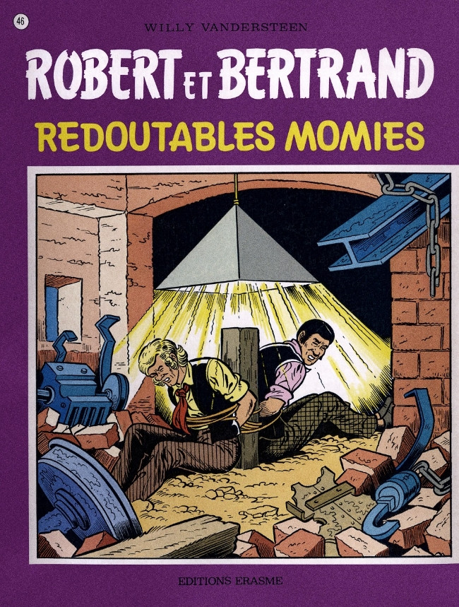Couverture de Robert et Bertrand -46- Redoutables momies