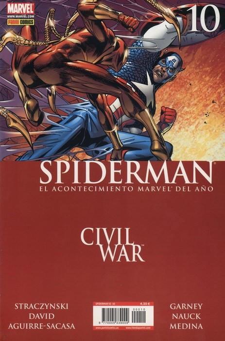 Couverture de Asombroso Spiderman -10- Civil War