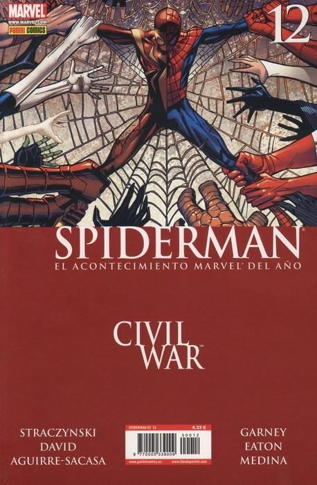 Couverture de Asombroso Spiderman -12- Civil War