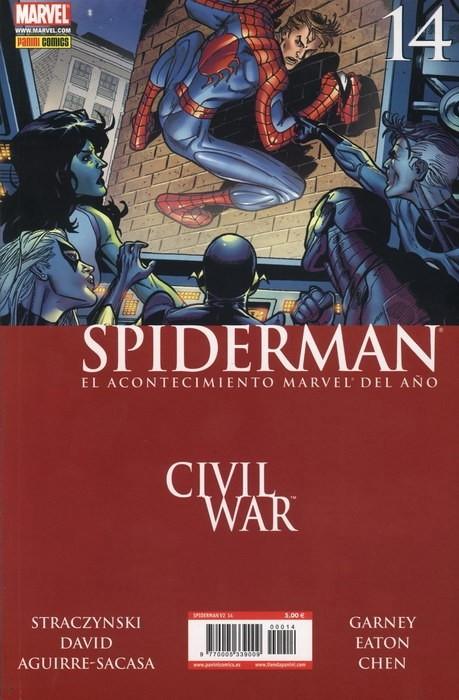 Couverture de Asombroso Spiderman -14- Civil War