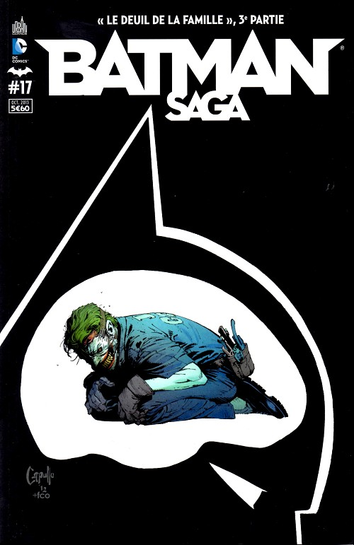 Couverture de Batman Saga -17- Numéro 17