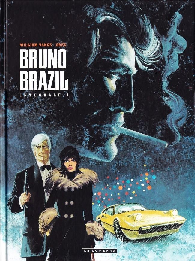 Couverture de Bruno Brazil -INT1- Intégrale 1