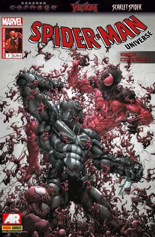 Couverture de Spider-Man Universe (Marvel France - 1re Série) -7- Minimum Carnage