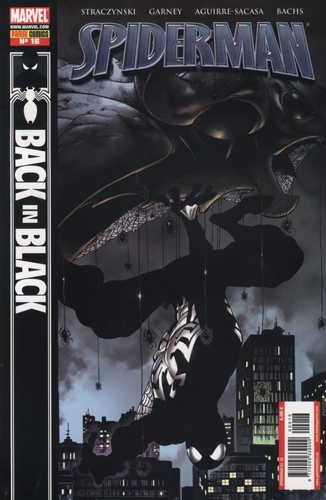 Couverture de Asombroso Spiderman -16- Back In Black (De Vuelta Al Negro)