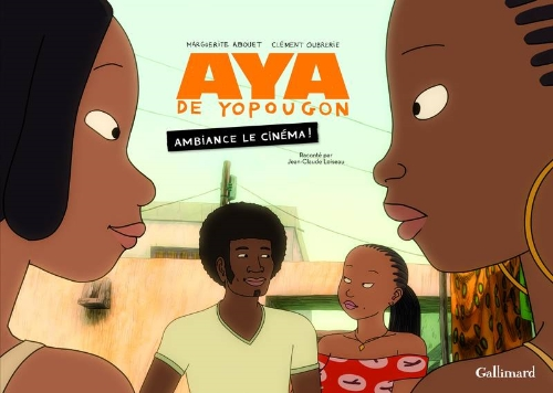 Couverture de Aya de Yopougon -HS- Ambiance le cinéma