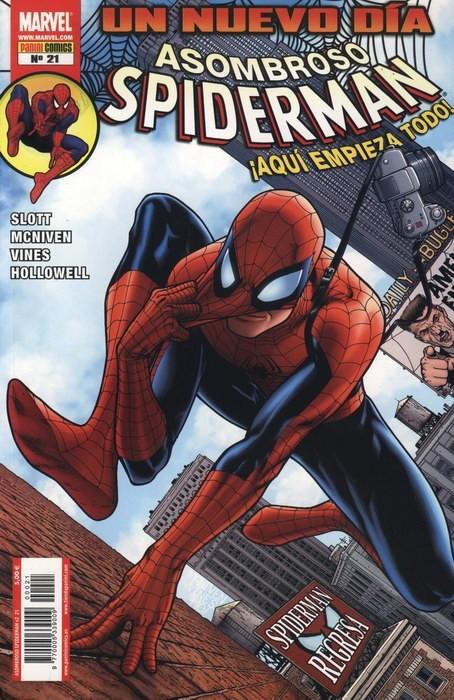 Couverture de Asombroso Spiderman -21- Un Nuevo Día