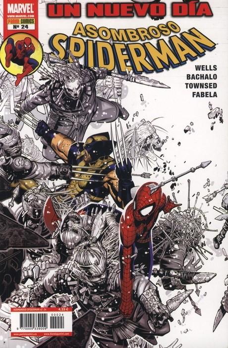Couverture de Asombroso Spiderman -24- Un Nuevo Día