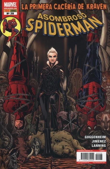 Couverture de Asombroso Spiderman -28- La Primera Cacería De Kraven